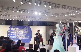 佛山周大福艺术文化中心中法3D艺术展酒会